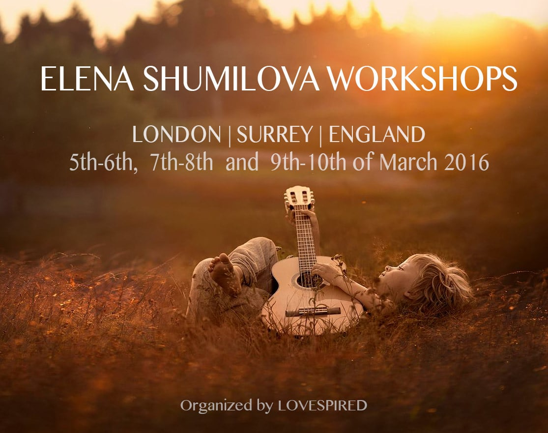 Elena Shumilova photography workshop in London 2016