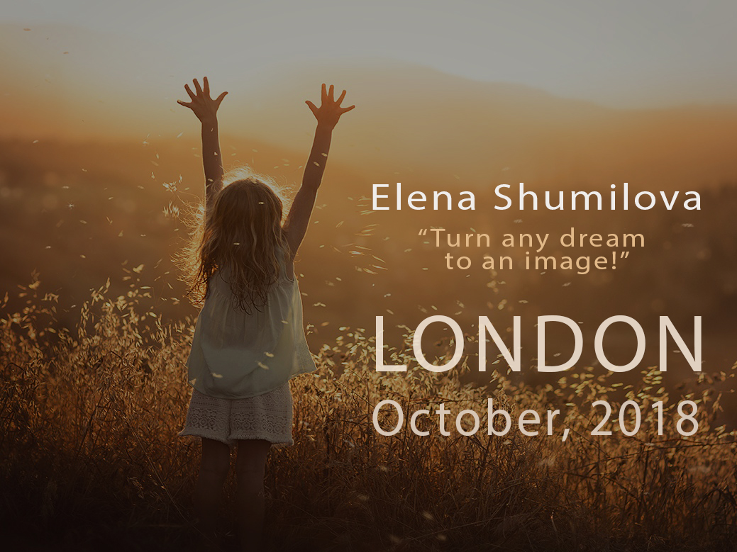 Elena Shumilova Photography Workshop London